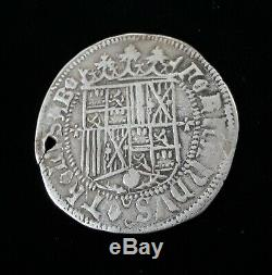 1474-1504 Ferdinand & Isabella Spanish Silver 1 Reale Columbus Cob Coin Spain