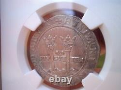 1542 -55 LM Mexico 2 Reales Cob 2r Spanish Colonial Silver Coin Ngc