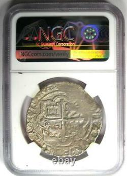 1556-98 Mexico Philip II Cob 8 Reales Coin (8R) Certified NGC AU Details