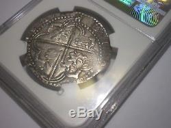 1596-1621 Atocha Era Bolivia 8 Reales Silver 8r Dollar Cob Colonial Coin
