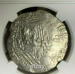 1598-1621 Bolivia 8 Reales Philip III Atocha Shipwreck Era Cob