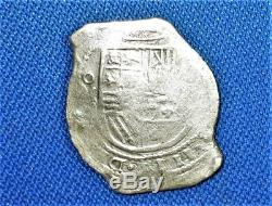 1600's Mo (D) Spanish Colonial SILVER 8 Reales, COB COIN, The Mexico City Mint