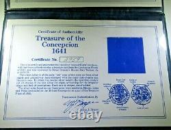 1600s Concepcion Shipwreck Spanish Mexico Silver 8 Reales Pirate Dollar Cob Coin