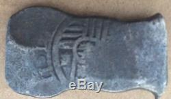 1600s Spanish Spain 8 Reales Real Cob Silver Coin Colonial Treasure Coin 27.70 g