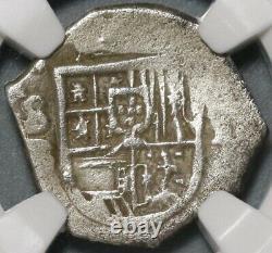 1609-B NGC AU 53 Spain 1 Real Seville Philip III Cob Coin POP 1/0 (20051503C)