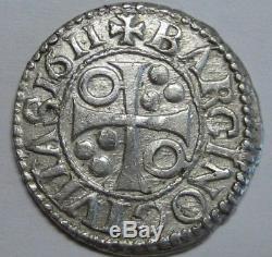 1611 Philip III 1/2 Real Cob 1/2 Croat Barcelona Beautiful Spain Colonial