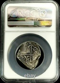 1621 -1665 Spain Toledo Mint Silver 2 Reales Philip IV Cob Coin Ngc Very Fine 35