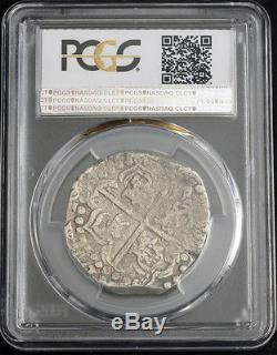 1622/1627, Bolivia, Philip IV. Silver 8 Reales Cob Coin. Rare Variety! PCGS VF30