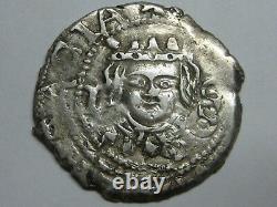 1642 Real Cob Dieciocheno Philip IV Valencia Spain Silver Spanish Colonial Rare