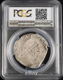 1649, Peru, Philip IV. Colonial Silver 8 Reales Cob Coin. Assayer Z PCGS XF40