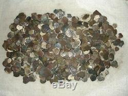 1659 1 Real Cob Coin From The Consolacion Shipwreck, Rare Star Of Lima