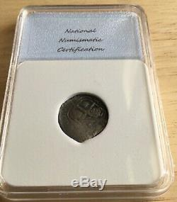 1664 Bolivia 1 Real Cob From Consolación Shipwreck Scuttled During Pirate Attack