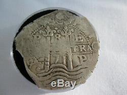 1671 8 Reales Charles II Silver Cob
