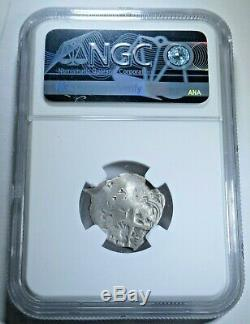 1680 Spanish Bolivia Silver 1 Reales NGC Graded Antique Colonial Pirate Cob Coin