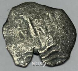 1681 Consolacion Shipwreck Spanish Cob 4 Reales SilverPotosi Coin Treasure COA