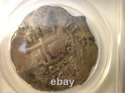 1693 Bolivia 8 Reales Colonial 8r Cob Silver Coin