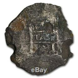 1702 Silver 8 Reales Cob (Unidentified South Caribbean Shipwreck) SKU#208432