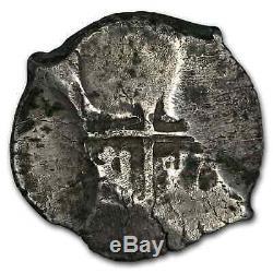 1712 P Y Bolivia Silver 8 Reales Cob VF SKU#208224