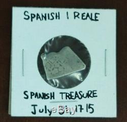 1715 Treasure Fleet Cabin Wreck Mexico Silver Cob Reale withRoy Volker COA Book