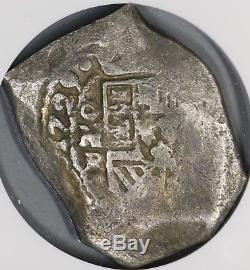 1729 NGC F 12 MEXICO Cob 8 Reales Philip V 25.89g Silver Coin POP 2/0 18072901C