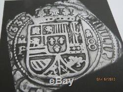 1733 Mexico City Klippe 8 Reale Cob. Incredible. Beautiful. A. N. A. Certified