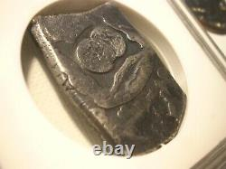 1742 Guatemala 8 Reales Silver Dollar Cob Colonial Coin
