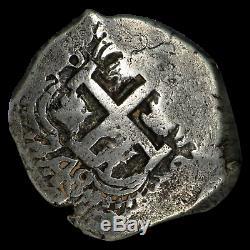 1748P Q Bolivia Silver 8 Reales Cob VF-25 NGC SKU#192964