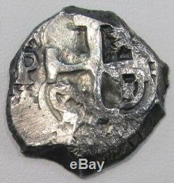 1753 Q Potosi Silver Bolivia 4 Reales Cob Ferdinand VI Coin