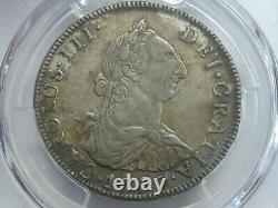1777 Potosi 4 Real Cob Pcgs Au53 Charles III Bolivia Spanish Silver Colonial Era
