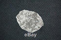 2 Maravillas Shipwreck Silver Cob Reale Coins + RARE Goin(Jack) Haskins COA
