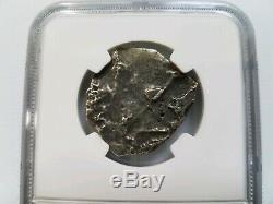 4 Reales Princess Louisa Shipwreck NGC Silver COB Sunken Treasure Salvor's Hoard