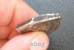 8 Reales 1732 or 1733/2 Mo F Mexico silver COB Philip V high grade, date scarce