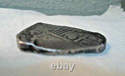 8 Reales Silver Spanish Treasure Cob Coin 27.1 grams
