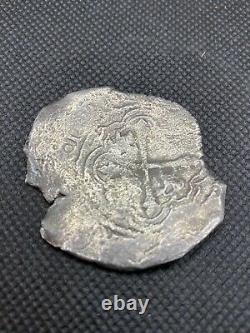 8 reales cob 1600s Silver Coin