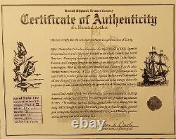 ATOCHA ERA SPANISH LAND TREASURE 2 REAL COB 1622 Mel Fisher