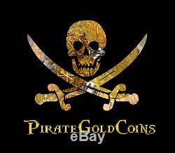 Atocha 1622 Bolivia 4 Reales Grade 1 Treasure Fisher Coa Pirate Gold Coins Cob