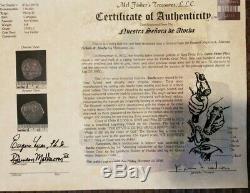 Atocha 2 Reales Cartagena Grade 1 Coin Appraisal $41000.00 Extremelly Rare Cob