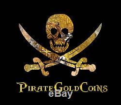 Atocha Mel Fisher Lima Peru 2 Reales 1598-1621 Pirate Gold Coins Silver Cob