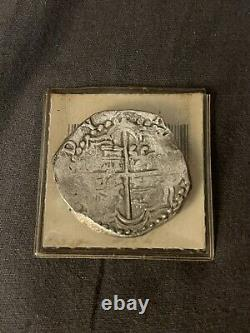 Atocha Shipwreck Cob Coin Spanish 8 Reales Philip III Potosi Mint