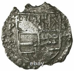 Atocha Shipwreck Piece of Eight Potosi, cob 8 reales, Philip III, assayer T, COA