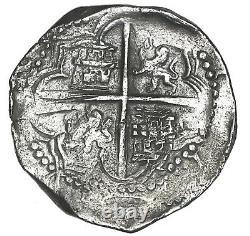 Atocha Shipwreck Potosi Bolivia cob 8 reales Philip III assayer Q Grade 1 with COA