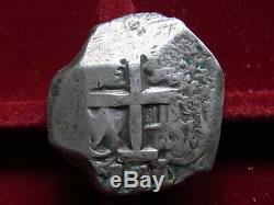 Bolivia. 1771/0 Overdate, Cob 8 Reales. Potosi Mint. 26.7 grams. VF