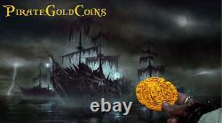 Bolivia 8 Reales 1652 Maravillas Fleet Shipwreck Treasure Pirate Gold Coins Cob