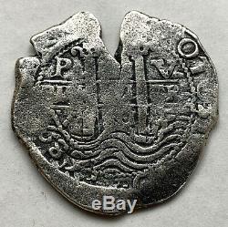 Bolivia Spain Colonial Silver 8 Reales Cob