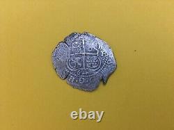 Bolivia (potosi) 2 Reales 1664 Pe Cob Fine