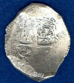 Ca. 1629 Spice Islands Shipwreck Spanish 8 Reales Cob Spanish Piece of Eight