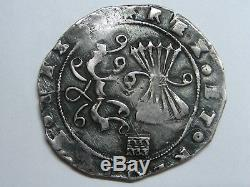 Catholic Kings 2 Real Cob Segovia Mint Isabel & Ferdinand Spanish Colonial Rare