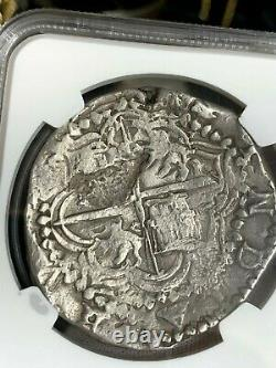 Choice 1605-1613 Potosi Bolivia 8 Reales Vf20 Atocha Era Cob