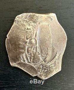 Cob Coin 1630-1641 Spanish Colonial 8 Reales Minted in Mexico City