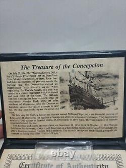Concepcion Shipwreck Spanish 8 Reales Cob Spanish Piece of Eight Circa 1640